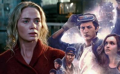 Tiché miesto v USA zvalcovalo Ready Player One aj všetky iné filmy. Vynikajúci horor na seba zarobil už za prvé tri dni v kinách