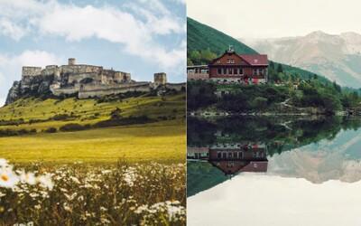 Tieto miesta patria k 5 najfotogenickejším na Slovensku. Navštív ich ešte toto leto