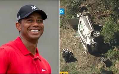 Tiger Woods mal vážnu dopravnú nehodu, aktuálne ho operujú v nemocnici. Z vraku auta ho museli vyberať kliešťami