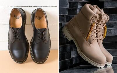 Timberland, Dr. Martens, ale i Vans nebo Nike. Jaké nejlepší zimní boty koupíš i u nás?