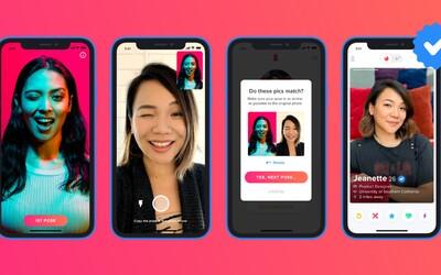 Tinder spúšťa verifikáciu tváre. Na rande by si už mal strenúť len človeka, ktorého naozaj chceš