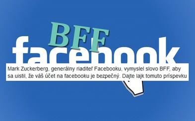 Tisíce Slovákov naleteli hoaxu o chránenom účte na Facebooku. V komentároch spamovali slovo BFF, aby si vraj overili zabezpečenie