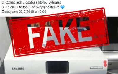 Tisíce Slovákov opäť naleteli na falošnú súťaž. Na Facebooku sa objavila podvodná stránka ponúkajúca spotrebiče