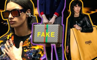 To najlepšie (a najbizarnejšie) z pánskeho Fashion Weeku v Miláne: Svietiace bundy, antény v ušiach alebo fake Gucci
