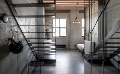 To najlepšie v Bratislave alebo dvojpodlažný loft miešajúci surovosť, modernu a teplo domova