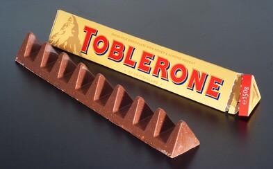 Toblerone sa vracia ku pôvodnému tvaru bez veľkých medzier