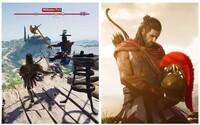 Tohle je Sparta! Očekávaný Assassin's Creed Odyssey z Řecka se představuje na vůbec prvních záběrech z hraní