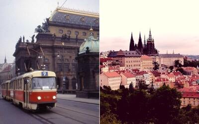 Tohle jsou barevné fotografie Prahy ze 70. let. Vyobrazují netradiční pohled na život Pražanů v totalitním velkoměstě