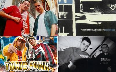 Tohle jsou nejzásadnější české hip-hopové tracky roků 1984–2005. Vzpomeneš si na všechny?
