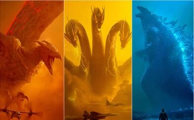 Letošní Godzilla 2 bude epická. Popere se s gigantickými monstry a připraví se na King Konga