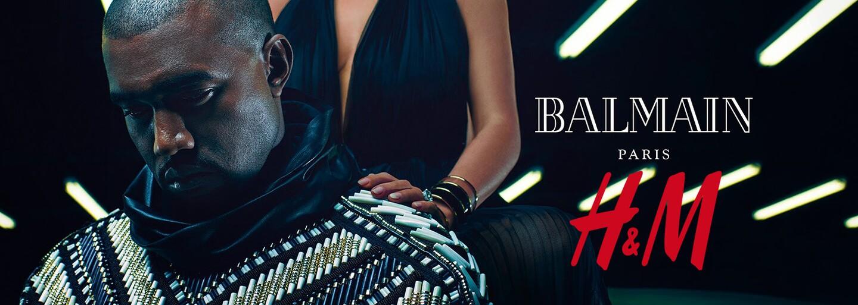 Letošní luxury kolekce H&M bude patřit Balmain!
