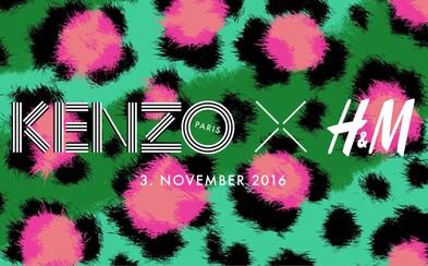 Tohtoročná luxusná spolupráca H&M bude patriť značke Kenzo!