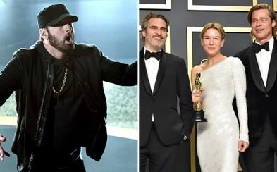 Tohtoročné Oscary zaznamenali najnižšiu sledovanosť v histórii. Nepomohol ani Eminem a Billie Eilish