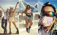 Tohtoročný Burning Man je za nami. Pozri sa, ako si ho užívali Cara Delevingne, Katy Perry či Karlie Kloss