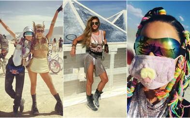 Letošní Burning Man je za námi. Podívej se, jak si ho užívala Cara Delevingne, Katy Perry nebo Karlie Kloss