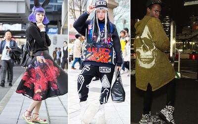 Tokio odhaluje ty nejbláznivější Street Style outfity během Fashion Weeku