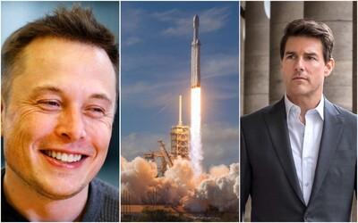 Tom Cruise a Elon Musk chystají akční film, který se bude natáčet ve vesmíru. Stát má 200 milionů dolarů