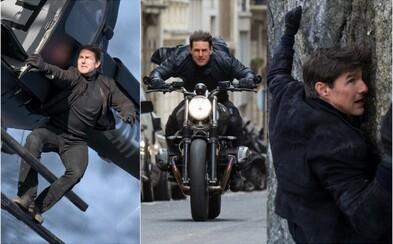 Tom Cruise bude v Mission: Impossible 7 a 8 robiť šialené kúsky, pri ktorých vyzerajú scény s helikoptérou ako detská stavebnica