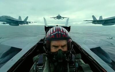 Tom Cruise nám z kokpitu stíhačky sľubuje najadrenalínovejší kino zážitok tohto roka. Bude ním Top Gun: Maverick