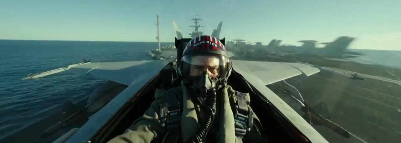 Tom Cruise obnovuje svou lásku ke stíhačkám v adrenalinovém traileru pro Top Gun: Maverick