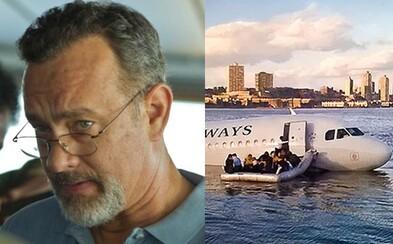 Tom Hanks a Clint Eastwood natočia Zázrak na rieke Hudson, film o záchrane pasažierov lietadla podľa skutočných udalostí