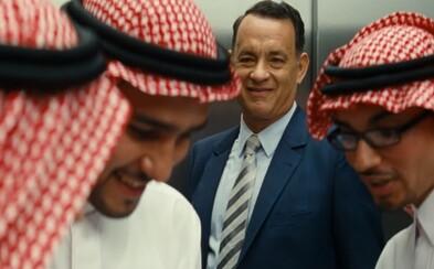Tom Hanks cestuje do Saudskej Arábie uzavrieť obchod svojho nepodareného života