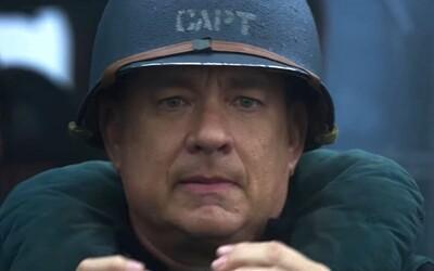 Tom Hanks vedie epickú ponorkovú vojnu proti nacistom. Trailer pre Greyhound sľubuje vojnový film s množstvom akcie