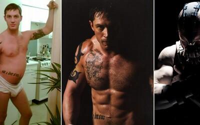Tom Hardy a jeho najlepšie filmové premeny, alebo ako sa stal z chlapca odhodlaný Warrior či zloduch Bane