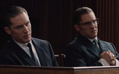 Tom Hardy dáva v novom traileri pre Legend do držky sám sebe