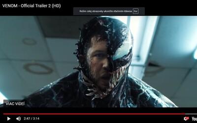 Tom Hardy jako Venom ničí celé město a zabíjí bez výčitek každého, kdo mu zkříží cestu