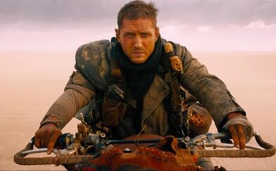 Tom Hardy netrpezlivo čaká na telefonát ohľadom natáčania Mad Maxa 5