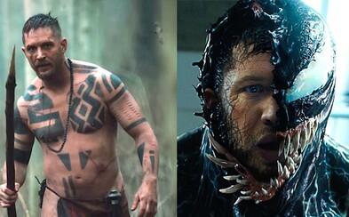 Tom Hardy prezradil, že mu už herectvo lezie na nervy. Najradšej by ho zavesil na klinec a našiel si prázdnu pláž