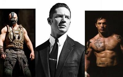 Tom Hardy v životě narazil na úplné dno, aby se později stal jedním z nejlepších herců současnosti. Co o tomto skvělém herci ještě nevíš?