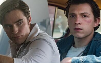 Tom Holland a Robert Pattinson se už příští měsíc objeví v gotickém hororu na Netflixu. Sekundovat jim budou úžasní herci