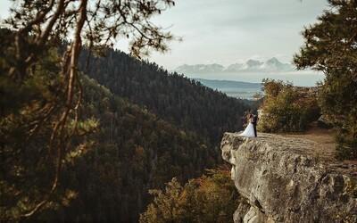 Tomášovský výhľad alebo miesto ako na konci sveta ponúka očarujúci pohľad na Slovenský raj, ktorý ti vyrazí dych