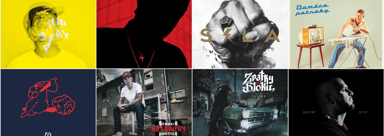 TOP 10: Ktoré slovenské a české albumy ovládli v roku 2016 rapovú scénu?