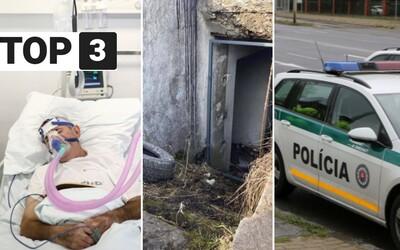 TOP 3 v piatok: Mladí vrahovia z Martina spoznali tresty, policajt žaluje Borisa Kollára a čaká nás 3-tisíc prípadov denne