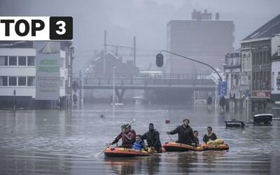 TOP 3 v piatok: Záplavy si vyžiadali vyše 100 obetí, pravidlá na hraniciach sa sprísňujú a Bistro.sk predávajú do zahraničia