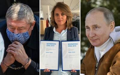TOP 3 v pondelok: Kováčik dostal 14 rokov, novinárov obvinili po podaní exsiskára a v Rusku zrejme falšovali ďalšie voľby