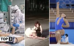 TOP 3 v stredu: Je tu tretia vlna pandémie, v Nových Zámkoch sa mužovi snažili odrezať hlavu a olympijská gymnastka podporila BLM