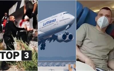 TOP 3 v utorok: Policajti zachránili ženu na Moste SNP, Lufthansa bude vítať rodovo neutrálne a muž onanoval na Slovenke vo vlaku