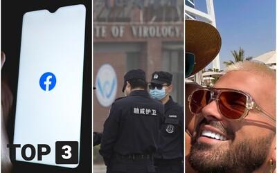 TOP 3 v utorok: Strausz zverejnil odvážne video, Facebook sa ospravedlnil a Čína nakupovala PCR testy mesiace pred pandémiou