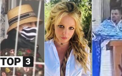 TOP 3 vo štvrtok: Plačková je na slobode, Britney Spears sa zbavila otcovho opatrovníctva a slovenský kňaz vynadal veriacim