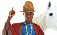 Top 5 outfitov, ktoré si môže dovoliť len Pharrell Williams