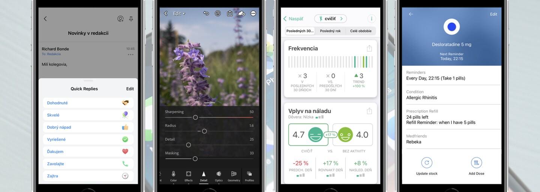 Top aplikace pro smartphony s iOS i Androidem, které stojí za vyzkoušení