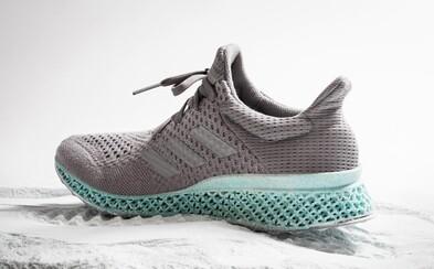 Bota od adidasu s 3D vytištěnou mezipodrážkou z vyloveného odpadu bojuje o zelenou budoucnost naší planety