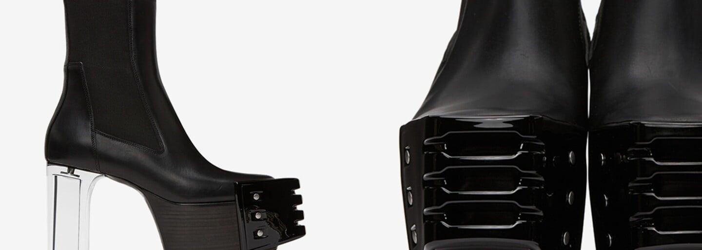 Topánky na podpätku aj pre pánov? Rick Owens neprestáva udivovať a servíruje nám androgýnnu obuv za vyše 2 000 eur