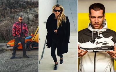 Topánky známych Slovákov a Čechov: Čo si v poslednej dobe obuli Majk Spirit, DJ Wich či Soňa Skoncová?