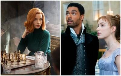 Toto je 10 najsledovanejších seriálov od Netflixu. Do Top 10 sa dostali Bridgerton aj The Queen's Gambit