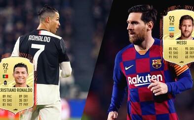 Toto je 100 nejlepších hráčů ve FIFA 21. Je stále králem Messi, nebo ho někdo konečně překonal?